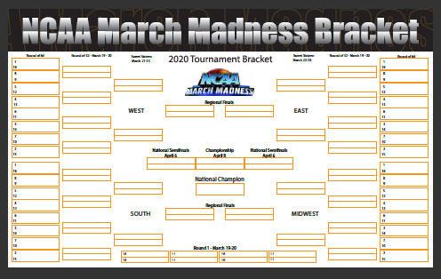 bet on march madness bracket