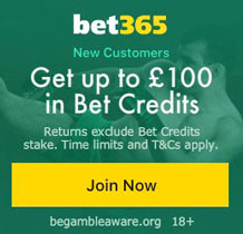 Bet365 New Customer Bonus